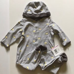 💗3/$15 Little me cars onesie boys 9 months